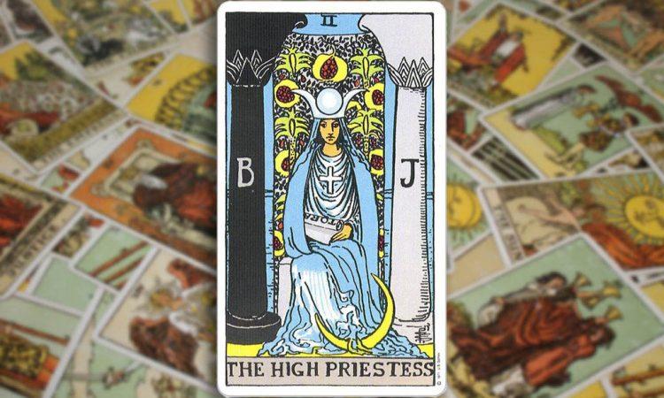 The High Priestess - Верховная Жрица
