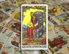 Queen of Pentacles — Королева Пентаклей