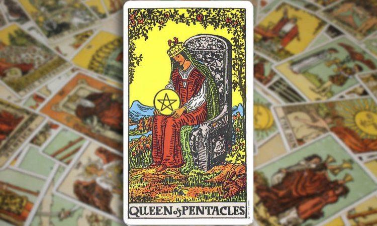 Queen of Pentacles - Королева Пентаклей