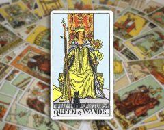 Queen of Wands — Королева Жезлов