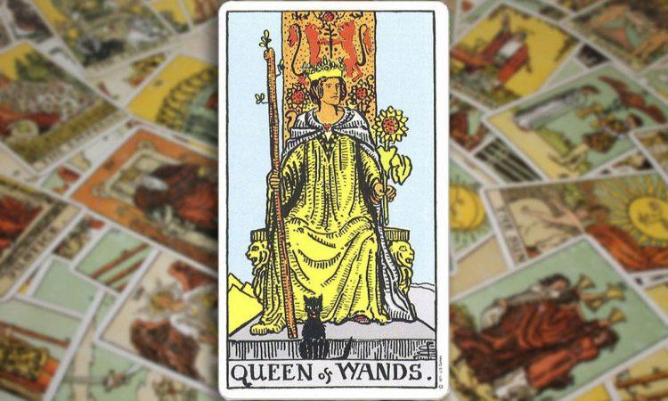 Queen of Wands - Королева Жезлов
