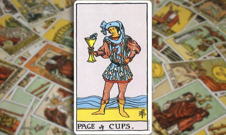 Page of Cups - Паж Кубков
