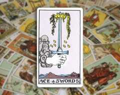 Ace of Swords — Туз Мечей