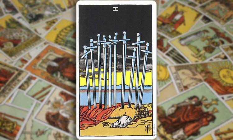Ten of Swords - Десятка Мечей