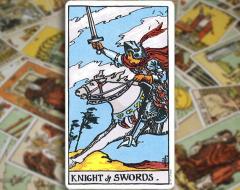 Knight of Swords — Рыцарь Мечей